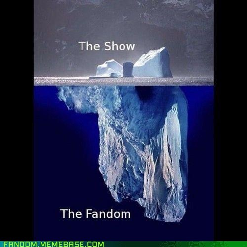 fandom problems,funny,iceberg