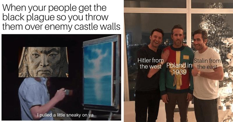 Dank history memes.