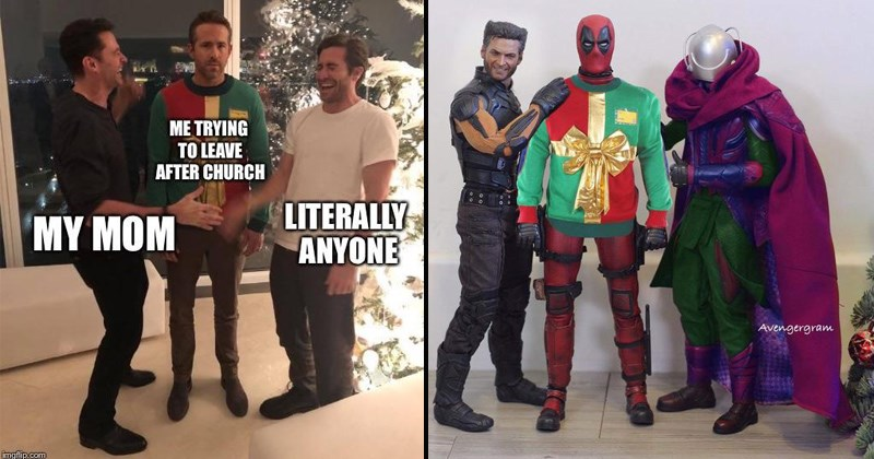 Ryan Reynolds pranked by Jake Gyllenhaal and Hugh Jackman