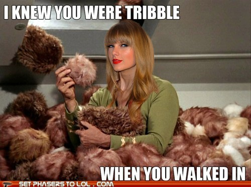taylor swift tribbles Star Trek - 7427475968