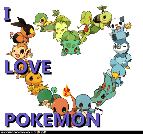 I LOVE POKEMON