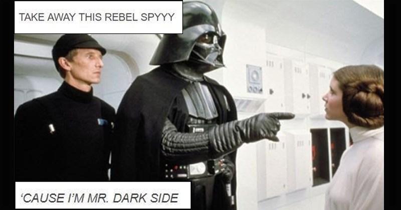 Mr Brightside Star Wars lyrics