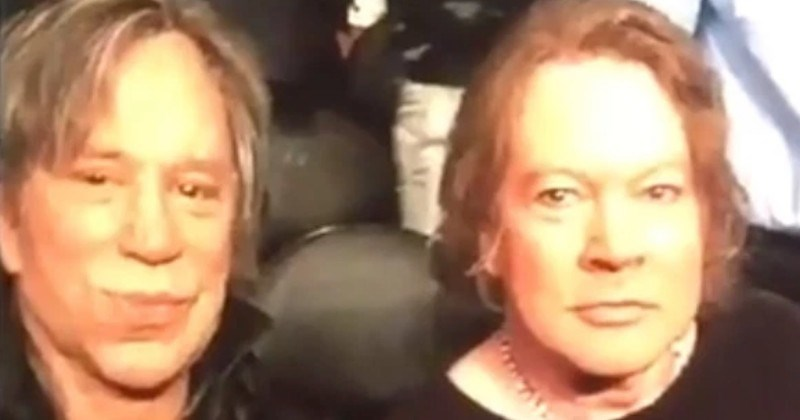 twitter axl rose trolling TV prank ridiculous mickey rourke - 7429637