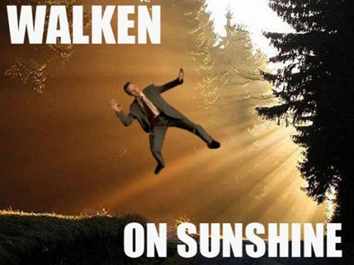 walking on sunshine,christopher walken