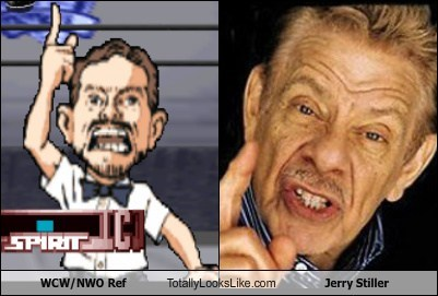 totally looks like,wcw,jerry stiller,funny,wrestling