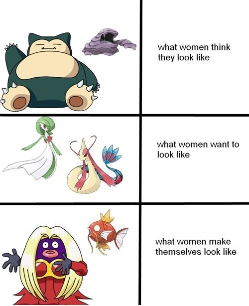 Pokémon girls women funny - 7431203072