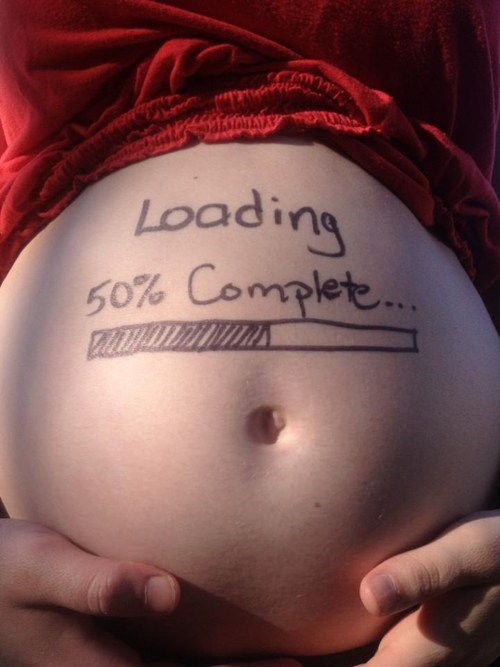 pregnant loading bar funny g rated parenting - 7431770112