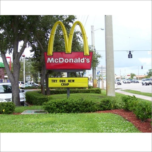 mcwrap McDonald's crap - 7431774720