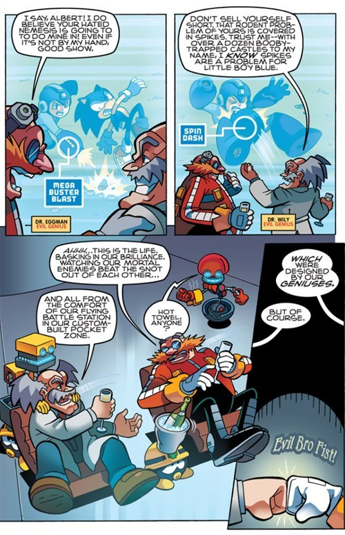 comics,mega man,sonic