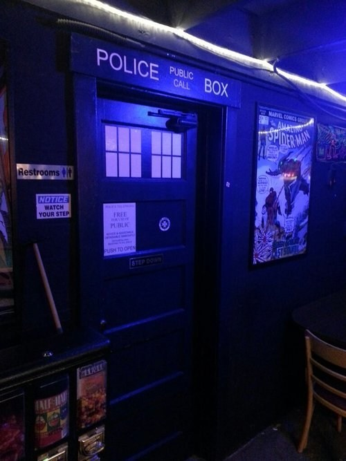 bars,portland,doctor who
