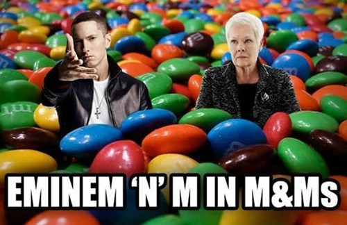 m&m Inception m eminem m&m