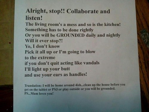 chores grounded g rated parenting