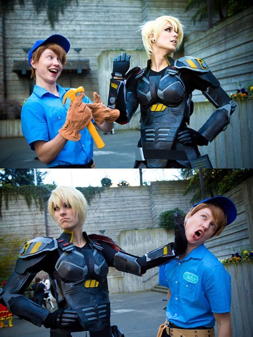 disney,cosplay,movies,pixar,wreck it ralph,fix it felix