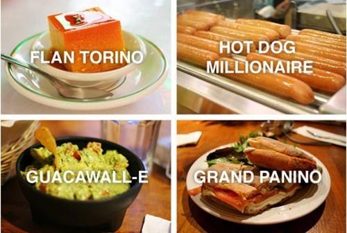 hot dog panini slum dog millionaire wall.e guacamole - 7432534272