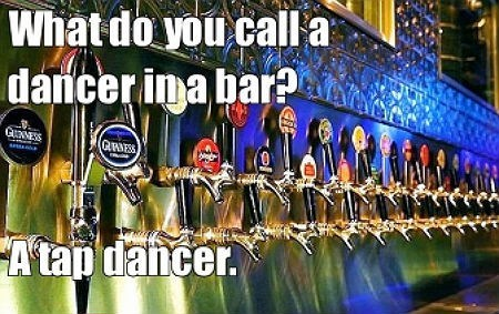 bar tap dancer