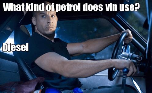 fuel car vin diesel - 7432581888