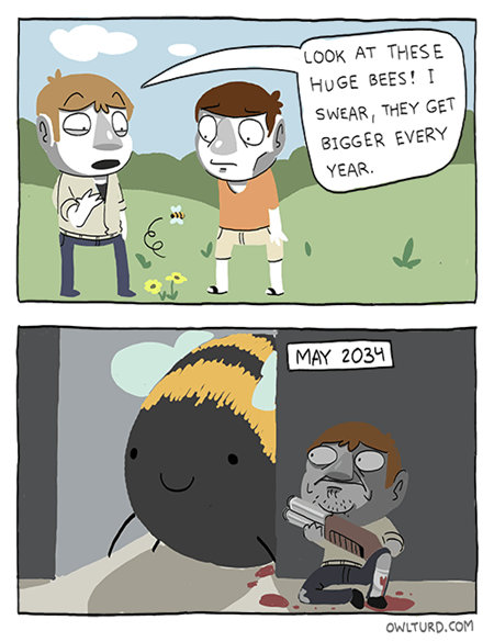 sad but true bees funny the future - 7432653312