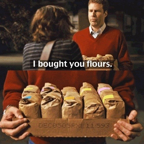 flowers funny women flour - 7432731136