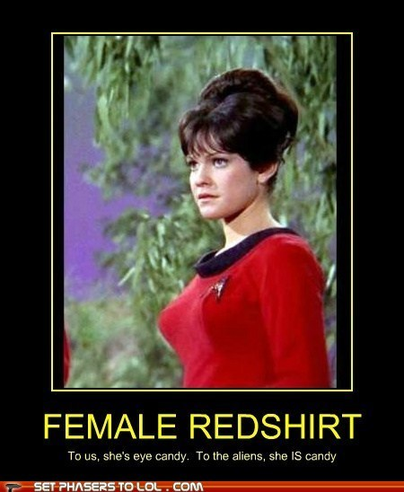 redshirts Star Trek funny - 7432788992