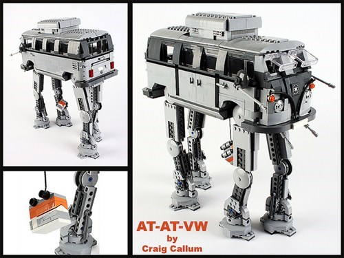 star wars lego nerdgasm at at - 7432820992