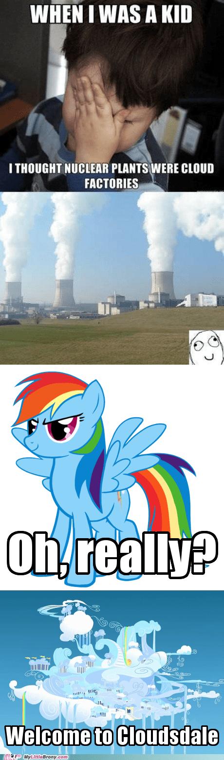 nuclear plants confession kid Memes rainbow dash funny - 7432951552