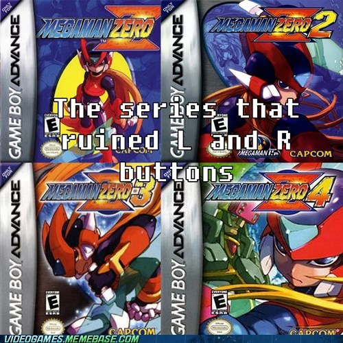 mega man zero game boy advance video games funny - 7433080320