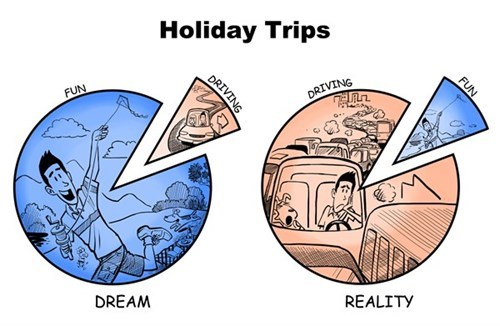 Sad dreams holiday reality funny
