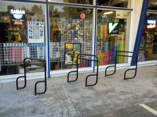 Music,bike rack,design,bikes,funny