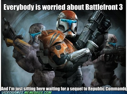 star wars,battlefront 3,funny,republic commando