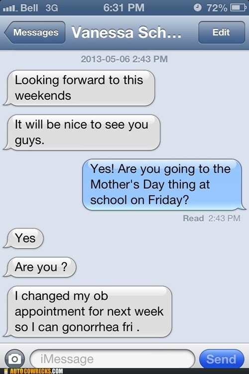 mothers day STD funny - 7433548544