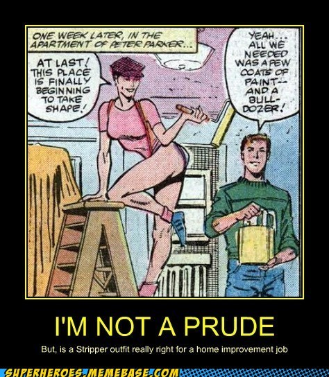 mary jane peter parker prude funny - 7434647808