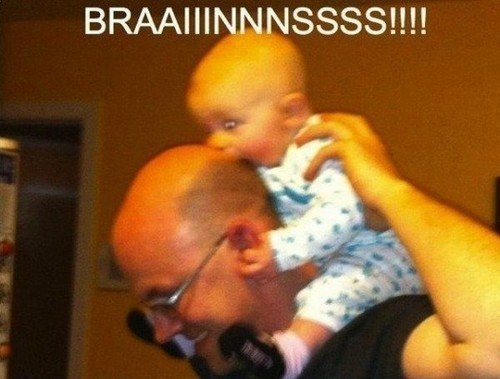 zombie braaains parenting funny - 7435513344