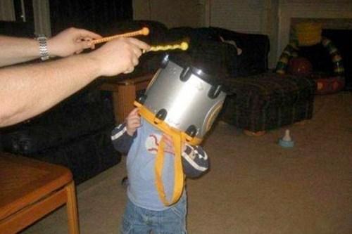 headwear instruments drums