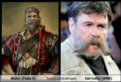 walter,Videogames,totally looks like,zeb colter,funny,wrestling