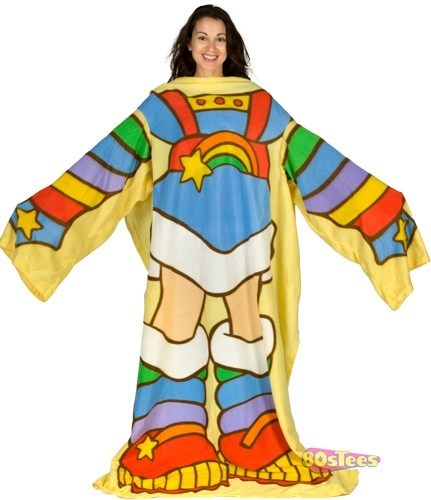 snuggie 80s rainbow bright classic funny poorly dressed g rated - 7435685376