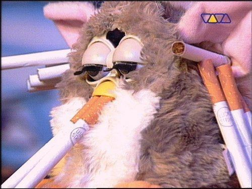 wtf cigarettes furby funny - 7435694848