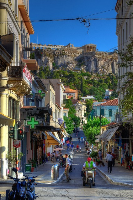 greece athens cityscape