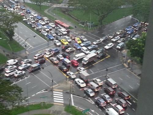 Traffic Jam cars driving funny - 7435872000