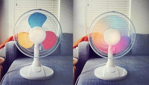 design fan pretty colors