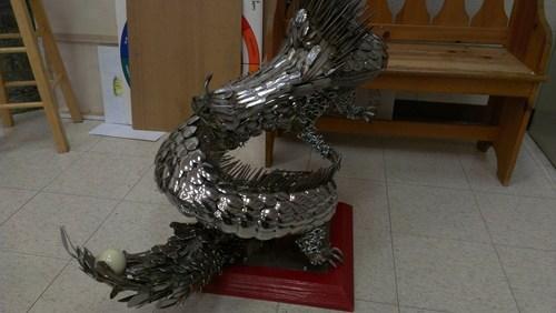 dragon design silverware funny - 7435879168