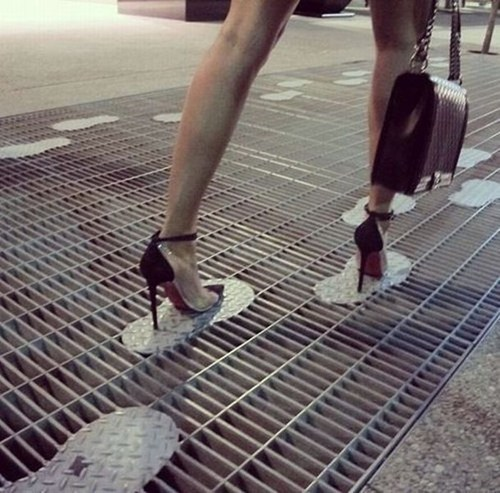 fashion heels clever design grate