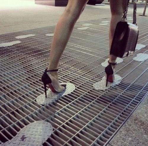 fashion heels clever design grate - 7435885568