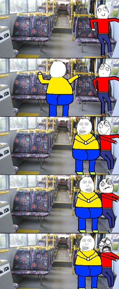 bus seats personal space public transit funny bus - 7436033024