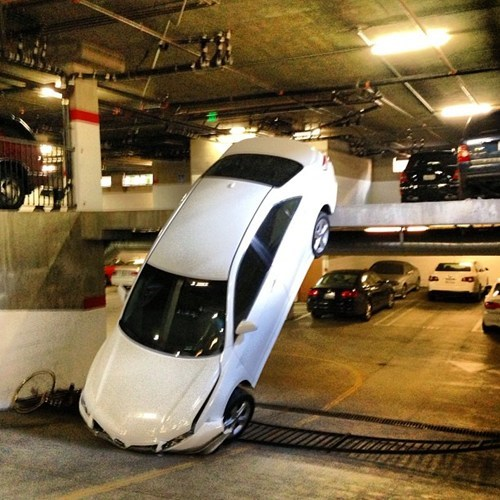 cars funny parking - 7436253440