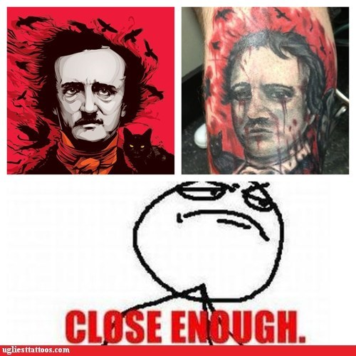 tattoos totally looks like funny - 7436487680