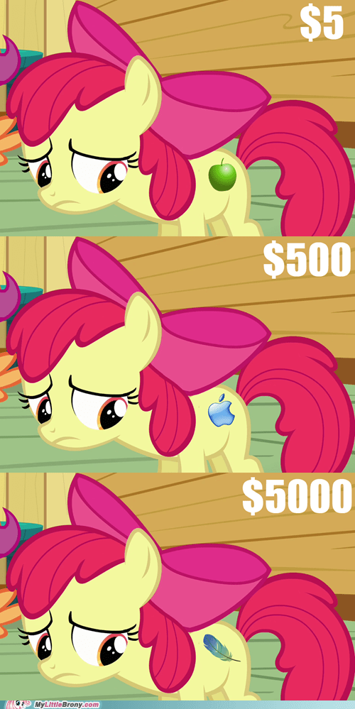 expensive apple cutie marks funny - 7437414144