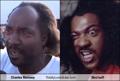 hero,sho'nuff,charles ramsey,totally looks like,funny