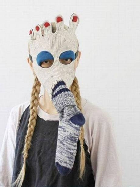 wtf socks face mask funny - 7438317056