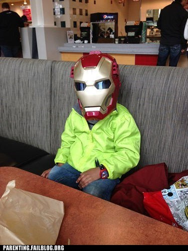 iron man kids costumes funny