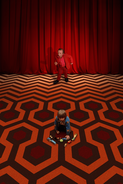 wtf red room Twin Peaks the shining funny - 7438827520